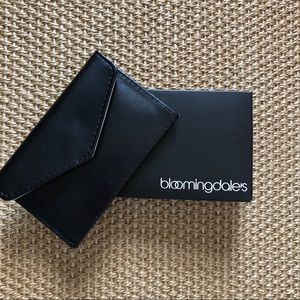 Bloomingdales small leather wallet